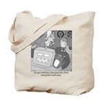 Robots and Gerbils Tote Bag