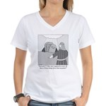 Don't Be a Jerk Women's V-Neck T-Shirt