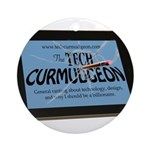 Tech Curmudgeon Ornament (Round)