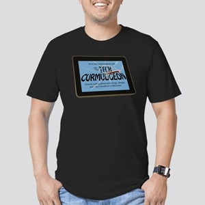 Tech Curmudgeon Men's Fitted T-Shirt (dark)