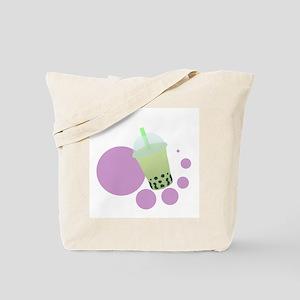 Honeydew Bubble Tea Tote Bag