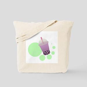 Taro Bubble Tea Tote Bag