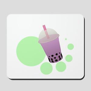 Taro Bubble Tea Mousepad