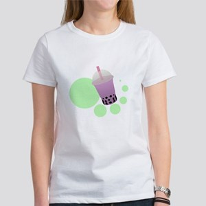 Taro Bubble Tea Women's T-Shirt