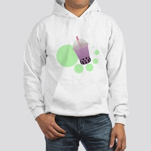 Taro Bubble Tea Hooded Sweatshirt