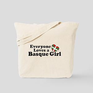 Everyone Loves a Basque Girl Tote Bag