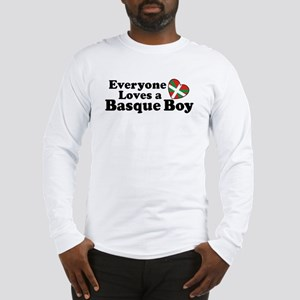 Everyone Loves a Basque Boy Long Sleeve T-Shirt