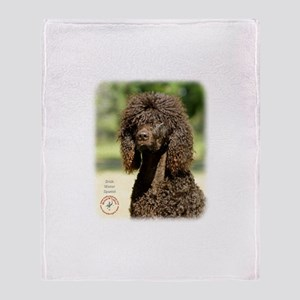 Irish Water Spaniel 9R032D-363 Throw Blanket