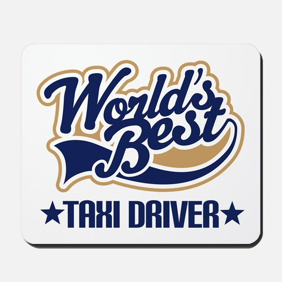 Taxi Driver Mousepad