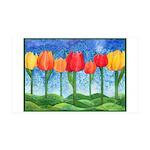 Tulip Trees 38.5 x 24.5 Wall Peel