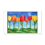 Tulip Trees 22x14 Wall Peel
