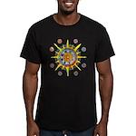 Celtic Stargate Men's Fitted T-Shirt (dark)