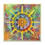 Celtic Stargate Tile Coaster