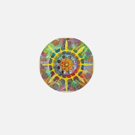 Celtic Stargate Mini Button