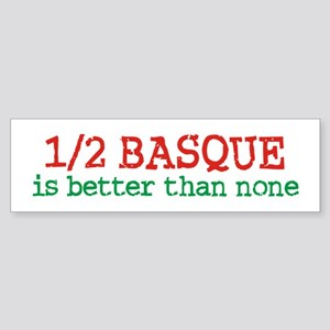 Half Basque Sticker (Bumper)