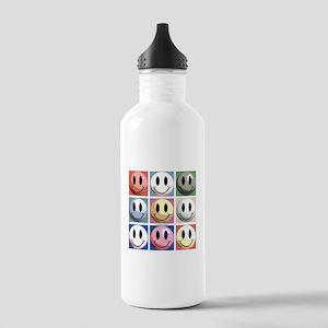 Warhol Smileys Stainless Water Bottle 1.0L