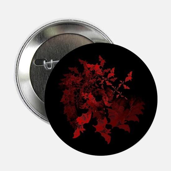 "Vampire Bats Red 2.25"" Button (10 pack)"