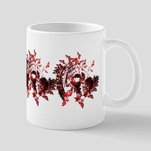 Vampire Bats Red Mug