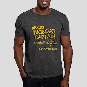 funny tugboat captain Dark T-Shirt