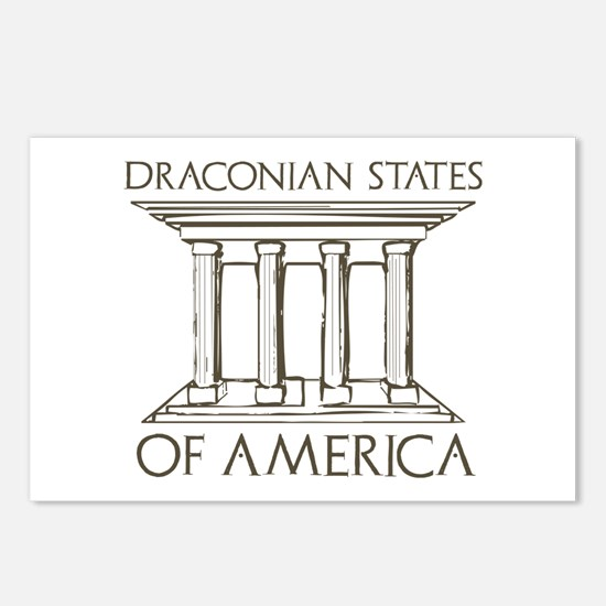 Draconian States of America Postcards (Package of