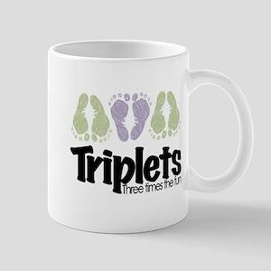 Triplets (unisex) Three Times Mug