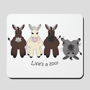 Med. Miniature Donkey Mousepad