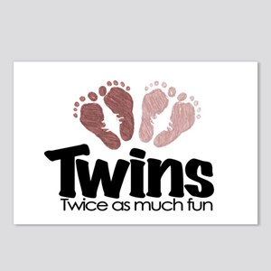 twins twice fun toys postcards cafepress