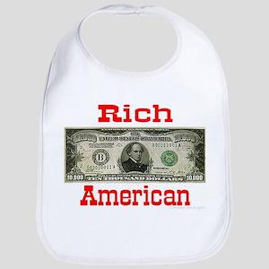 Rich American Bib