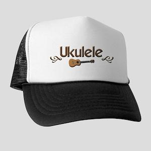 Ukulele Uke Trucker Hat