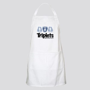 Triplet Boys - More Fun Apron