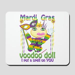 Mardi Gras Voodoo Doll Mousepad