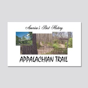 Appalachian Trail Americabesthist 20x12 Wall Decal