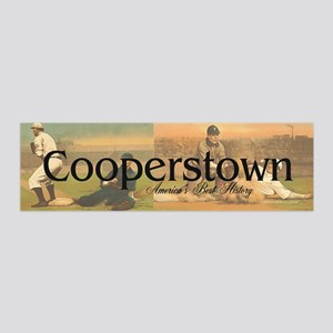Cooperstown Americasbesthistory.c 36x11 Wall Decal