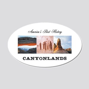 ABH Canyonlands 20x12 Oval Wall Decal