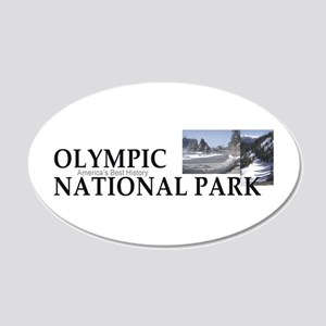 ABH Olympic NP 20x12 Oval Wall Decal