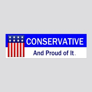Conservative Slogan 36x11 Wall Decal