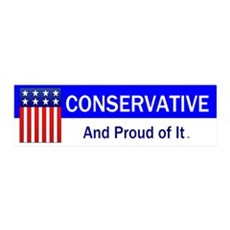 Conservative Slogan Wall Decal