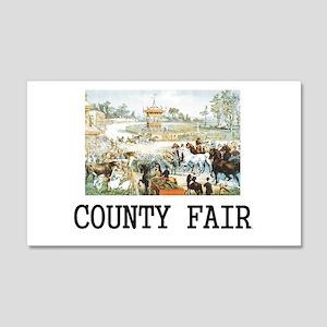 Country Fair 20x12 Wall Decal