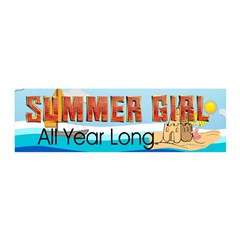 Summer Girl Wall Decal