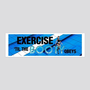 TOP Workout Slogan 36x11 Wall Decal