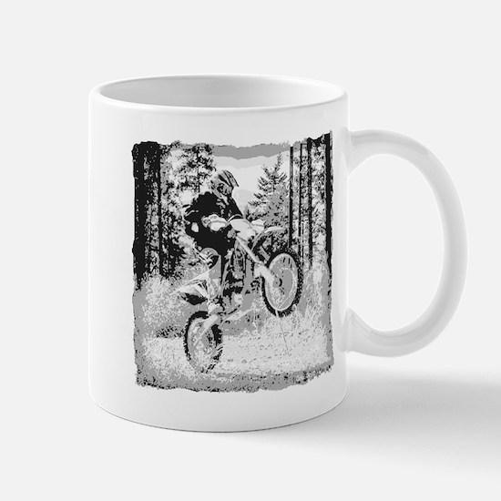 Fun In The Woods Dirt Biking Mug Mugs