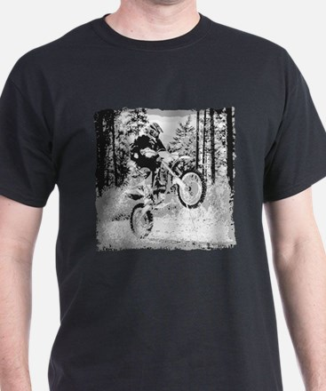 Fun in the woods dirt biking T-Shirt
