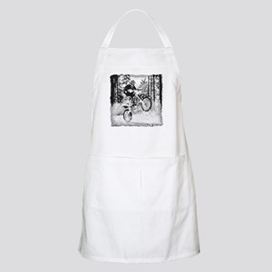 Fun in the woods dirt biking BBQ Apron