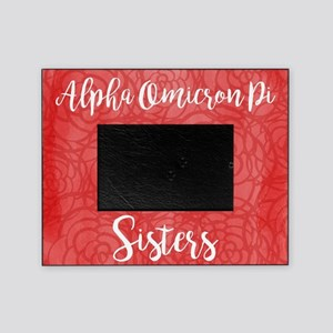 Alpha Omicron Pi Sisters Picture Frame
