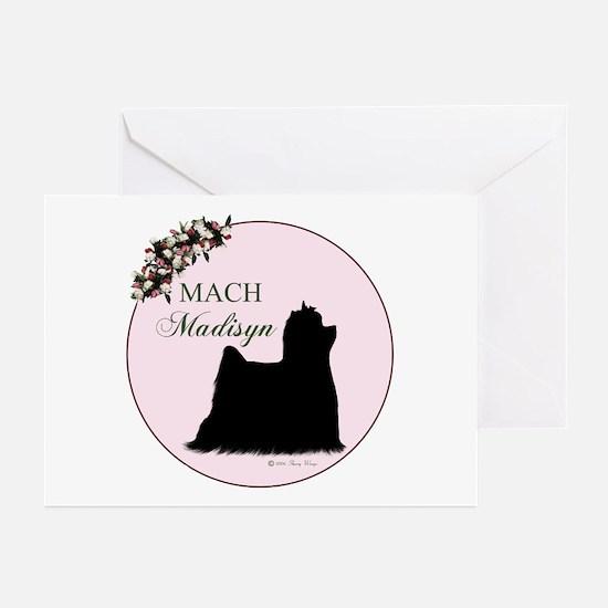 MACH Madisyn Pink Greeting Cards (Pk of 10)