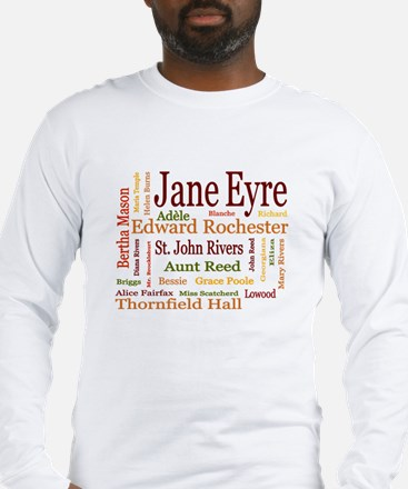 Jane Eyre Characters Long Sleeve T-Shirt
