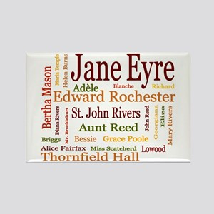 Jane Eyre Characters Rectangle Magnet