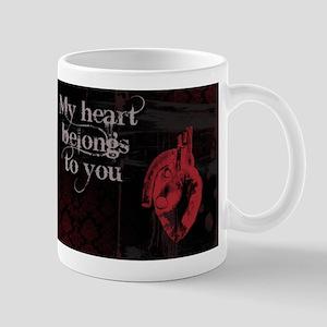 Gothic Heart belongs to you Mug