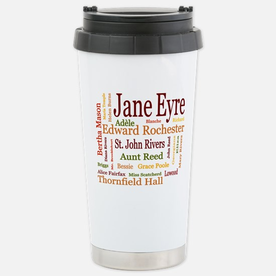 Jane Eyre Characters Stainless Steel Travel Mug