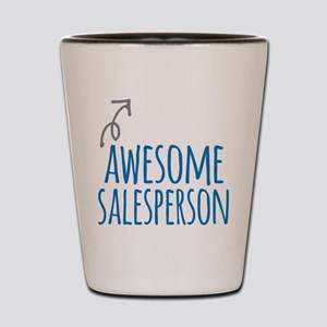 salesperson Shot Glass